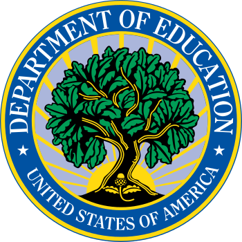 Seal of the United States Department of Education (Photo credit: Wikipedia)